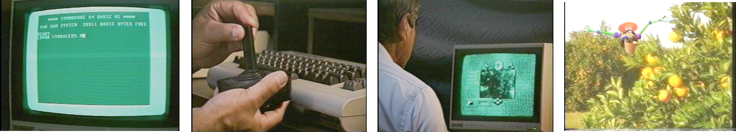 Sequence of stills from Why Cyberbraceros?