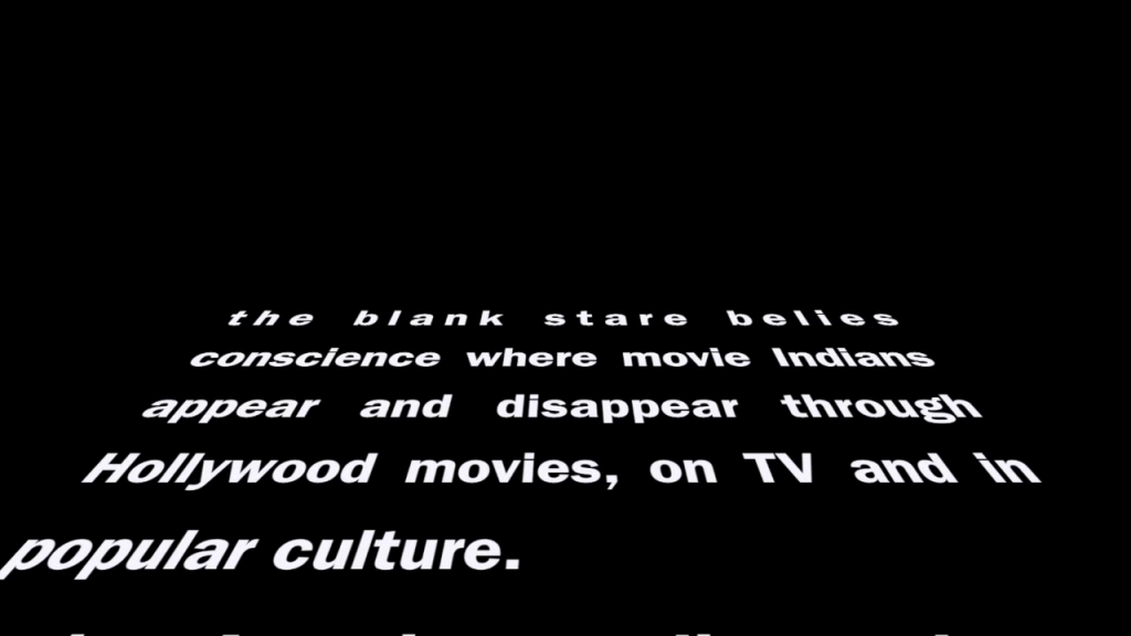 """The Blank Stare at Movie """"Indians"""""""