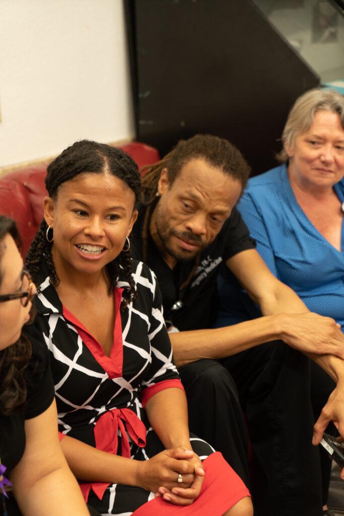 Team of 4 community-academic partnership